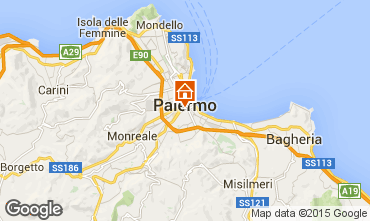 Map Palermo One-room apartment 64481