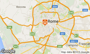 Map Rome Apartment 55218