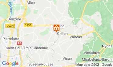 Map Grignan House 106649
