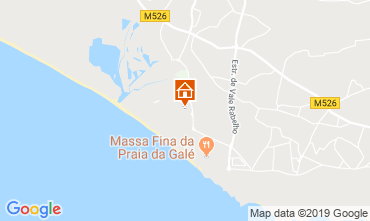 Map Albufeira Apartment 77799