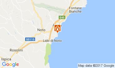 Map Avola Villa 110884