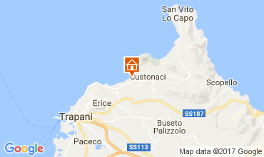Map Trapani Apartment 68813