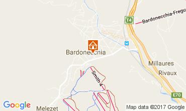 Map Bardonecchia Apartment 108545