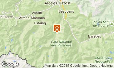 Map Cauterets Chalet 23991