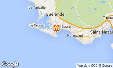 Map Le Pouliguen House 7217