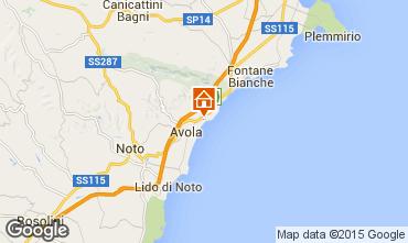 Map Avola Apartment 92175
