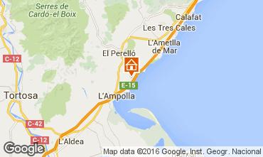Map La Ametlla de Mar House 102804