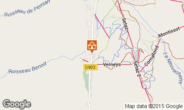 Map Valloire Chalet 3382