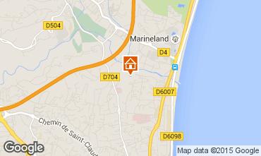 Map Antibes Apartment 92274