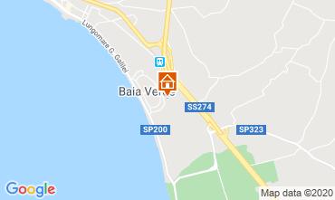 Map Gallipoli One-room apartment 111072