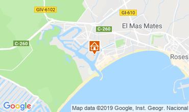 Map Rosas Apartment 114884