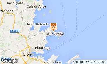 Map Aranci Gulf Apartment 53823