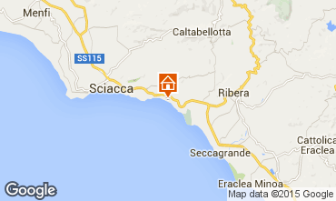 Map Sciacca Apartment 78292