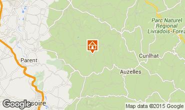 Map Clermont-Ferrand Apartment 92807