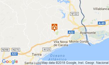 Map Tavira Villa 113823