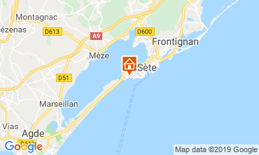 Map Sete Apartment 118247