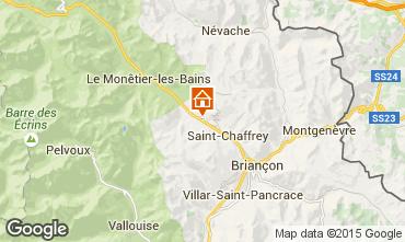 Map Serre Chevalier Apartment 40016