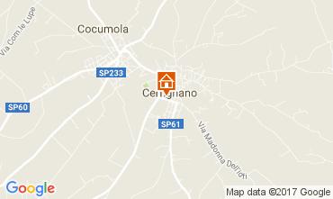 Map Santa Cesarea Terme House 88602