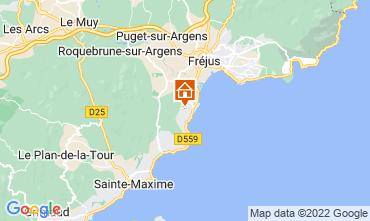 Map Les Menuires Chalet 73309