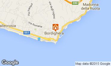 Map Bordighera Apartment 79637