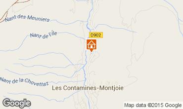 Map Les Contamines Montjoie Chalet 978