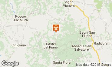 Map Montalcino House 14841