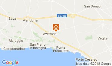 Map Punta Prosciutto Villa 109502