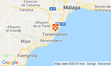 Map Torremolinos Apartment 119973