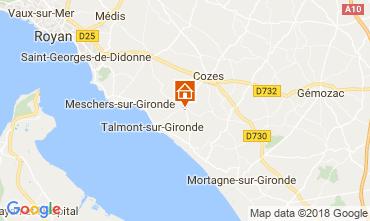 Map Saint Georges de Didonne House 114590