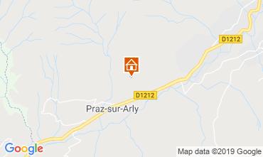 Map Megève Chalet 2301
