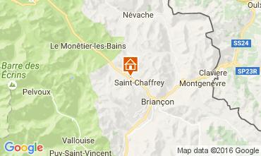 Map Serre Chevalier Apartment 66595