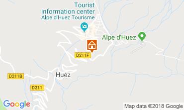 Map Alpe d'Huez Apartment 117471