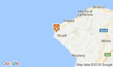 Map Capo Vaticano Villa 114175