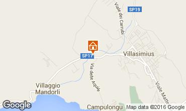 Map Villasimius Villa 52035