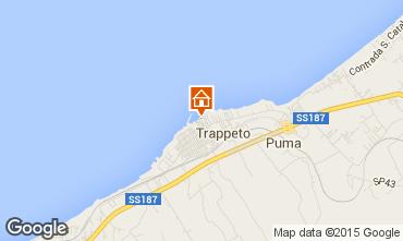 Map Trappeto Apartment 101050