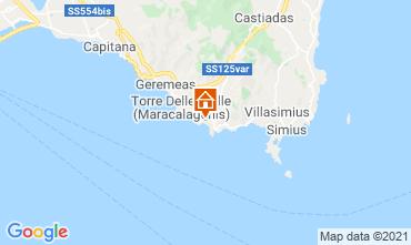 Map Solanas Villa 47978