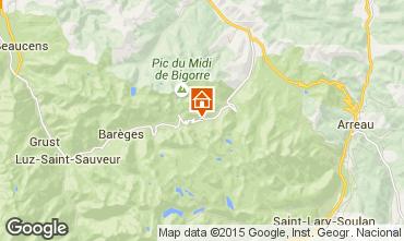 Map La Mongie Apartment 4314