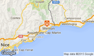 Map Menton Apartment 77050