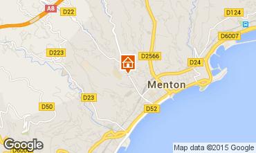 Map Menton Apartment 77050