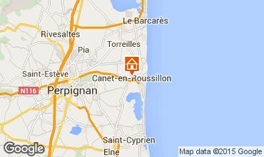 Map Canet-en-Roussillon Villa 94572