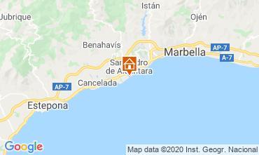 Map Marbella Villa 118906