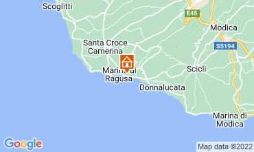 Map Marina di Ragusa Apartment 30110