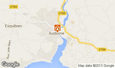 Map Audierne Apartment 60237