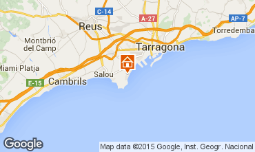 Map Salou Apartment 17625