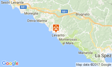 Map Levanto Apartment 75601
