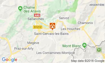 Map Saint-Gervais-les-Bains Apartment 117068