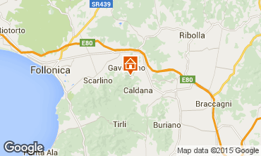 Map Gavorrano Villa 80762