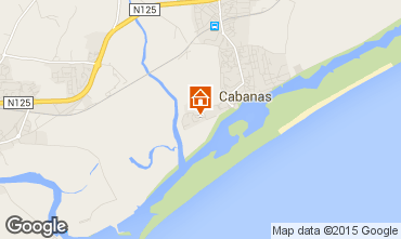 Map Cabanas de Tavira Apartment 63616