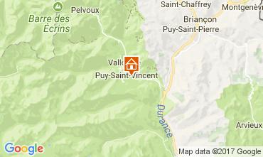 Map Puy Saint Vincent Apartment 112746