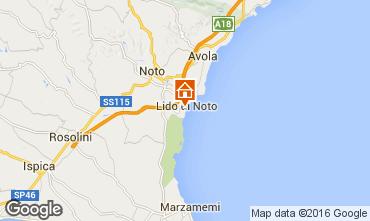 Map Noto Apartment 96552